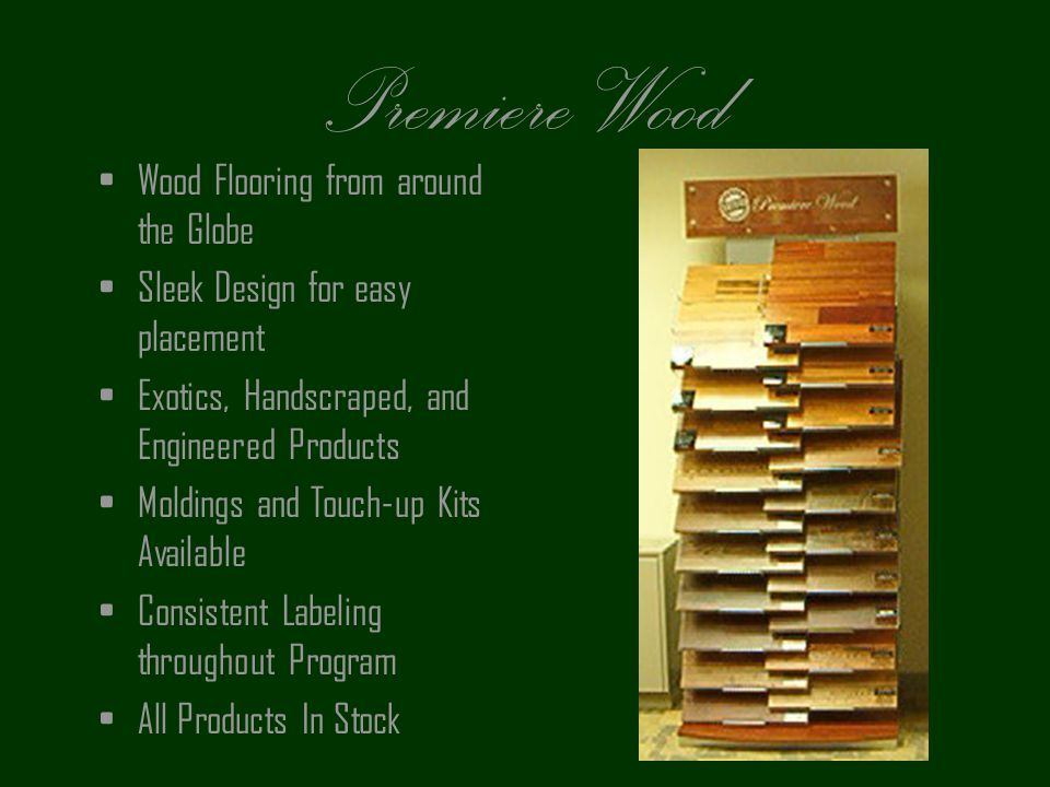 Premiere Wood Wood Flooring from around the Globe