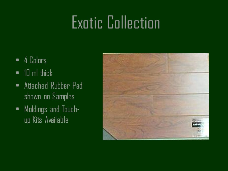 Exotic Collection 4 Colors 10 ml thick
