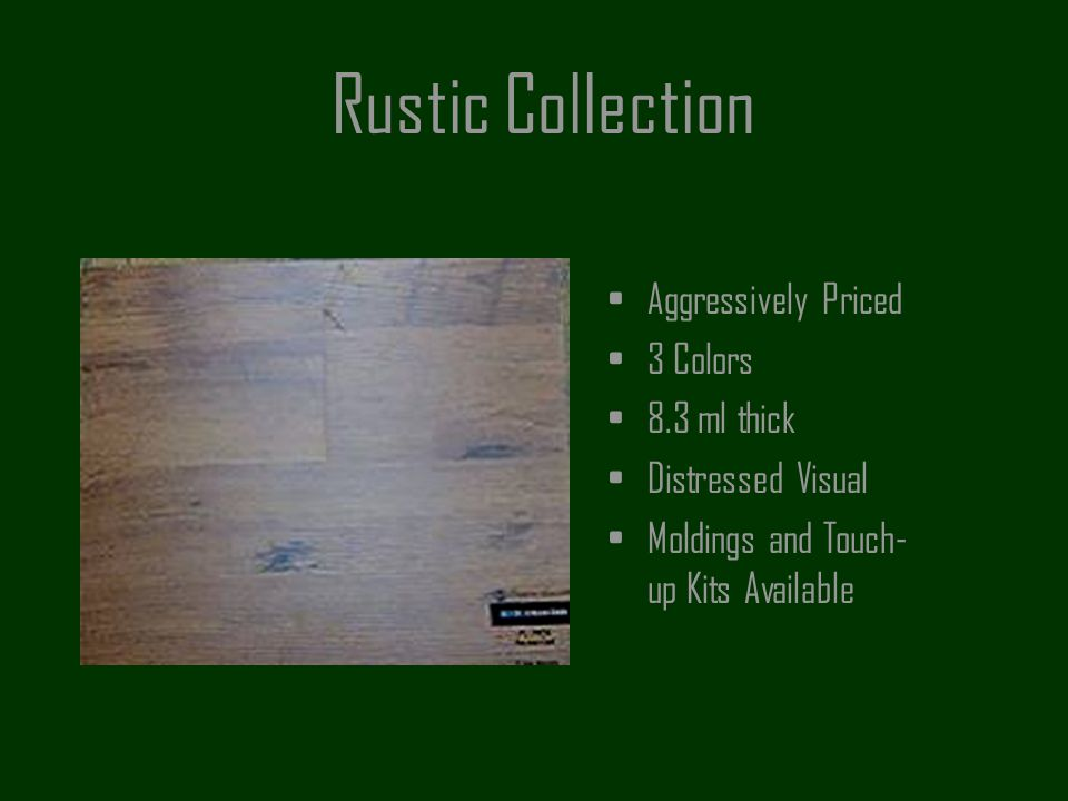 Rustic Collection Aggressively Priced 3 Colors 8.3 ml thick