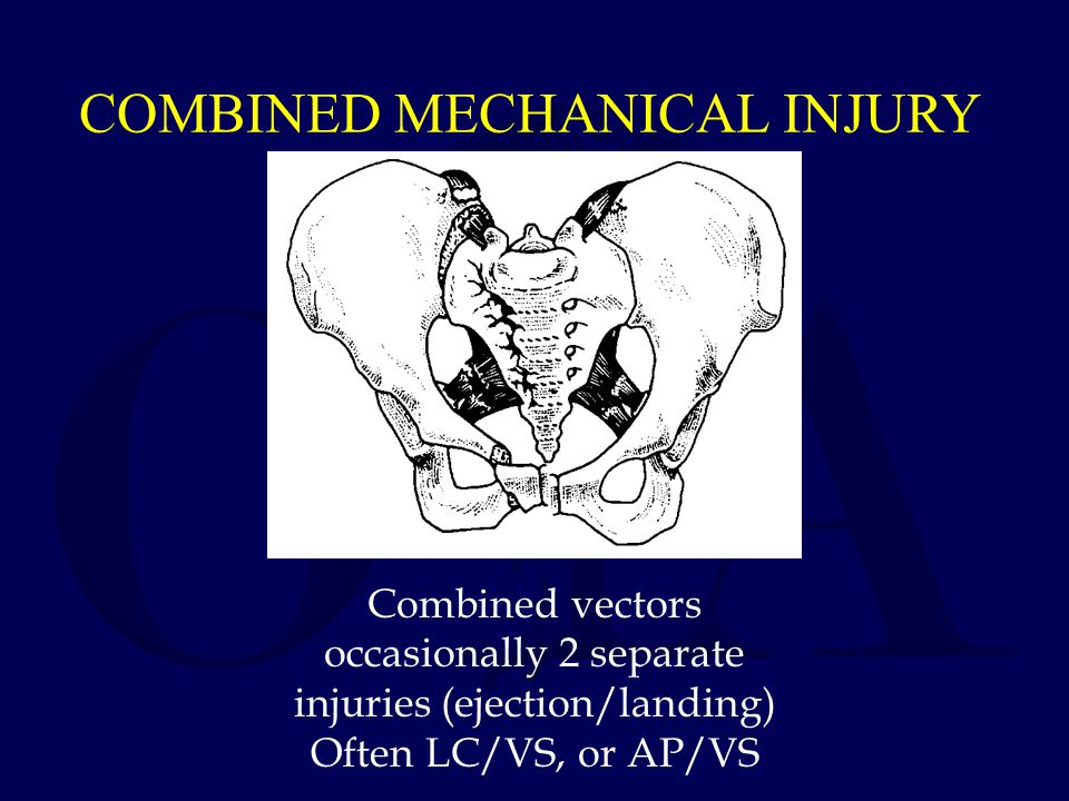 COMBINED MECHANICAL INJURY