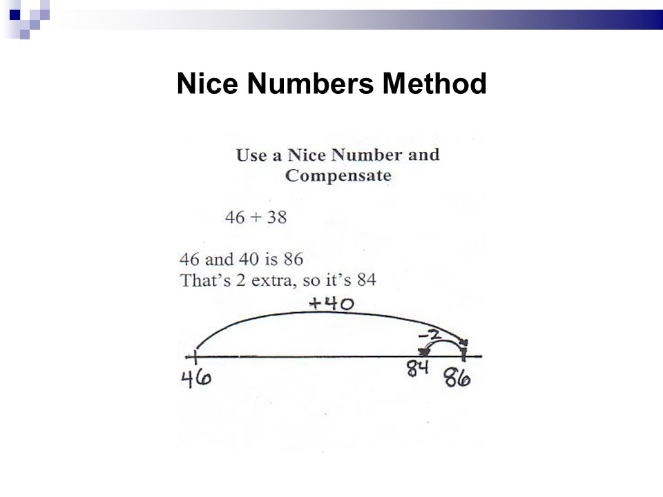 Nice Numbers Method 8