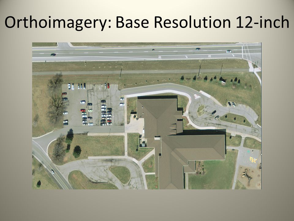 Orthoimagery: Base Resolution 12-inch