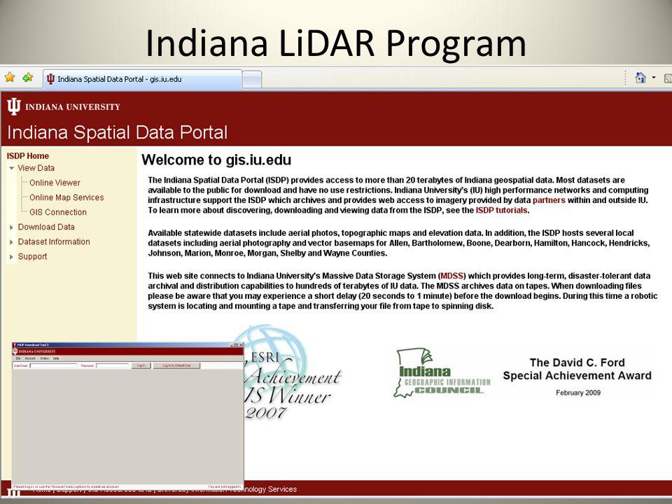 Indiana LiDAR Program