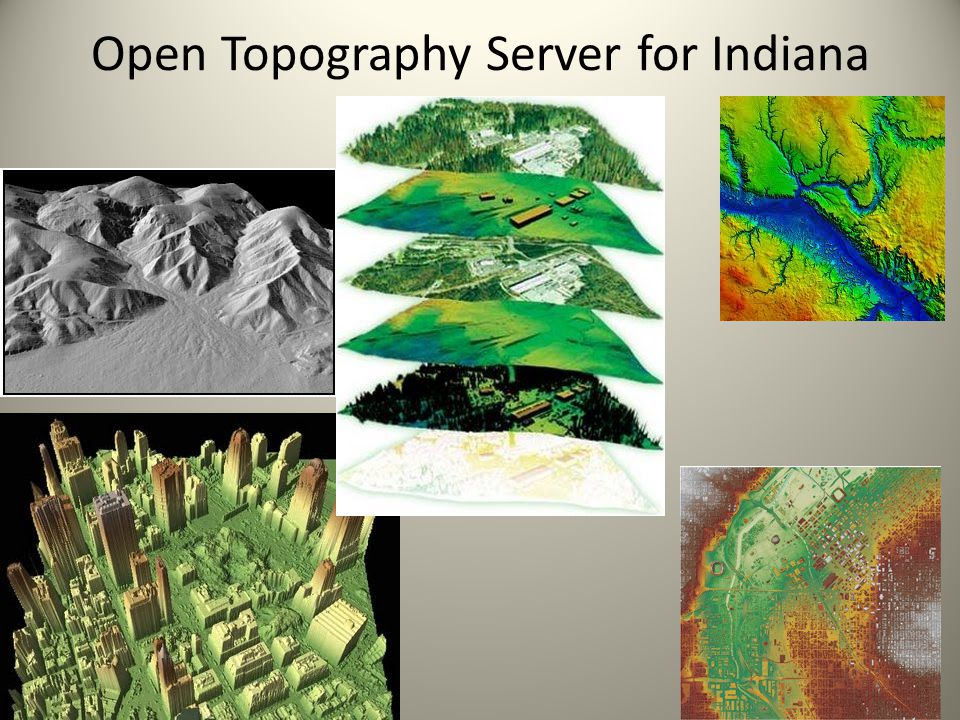 Open Topography Server for Indiana Indiana