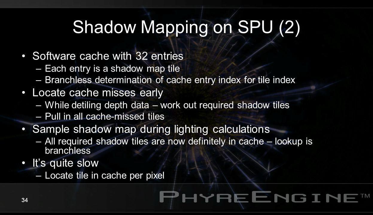 Shadow Mapping on SPU (2)