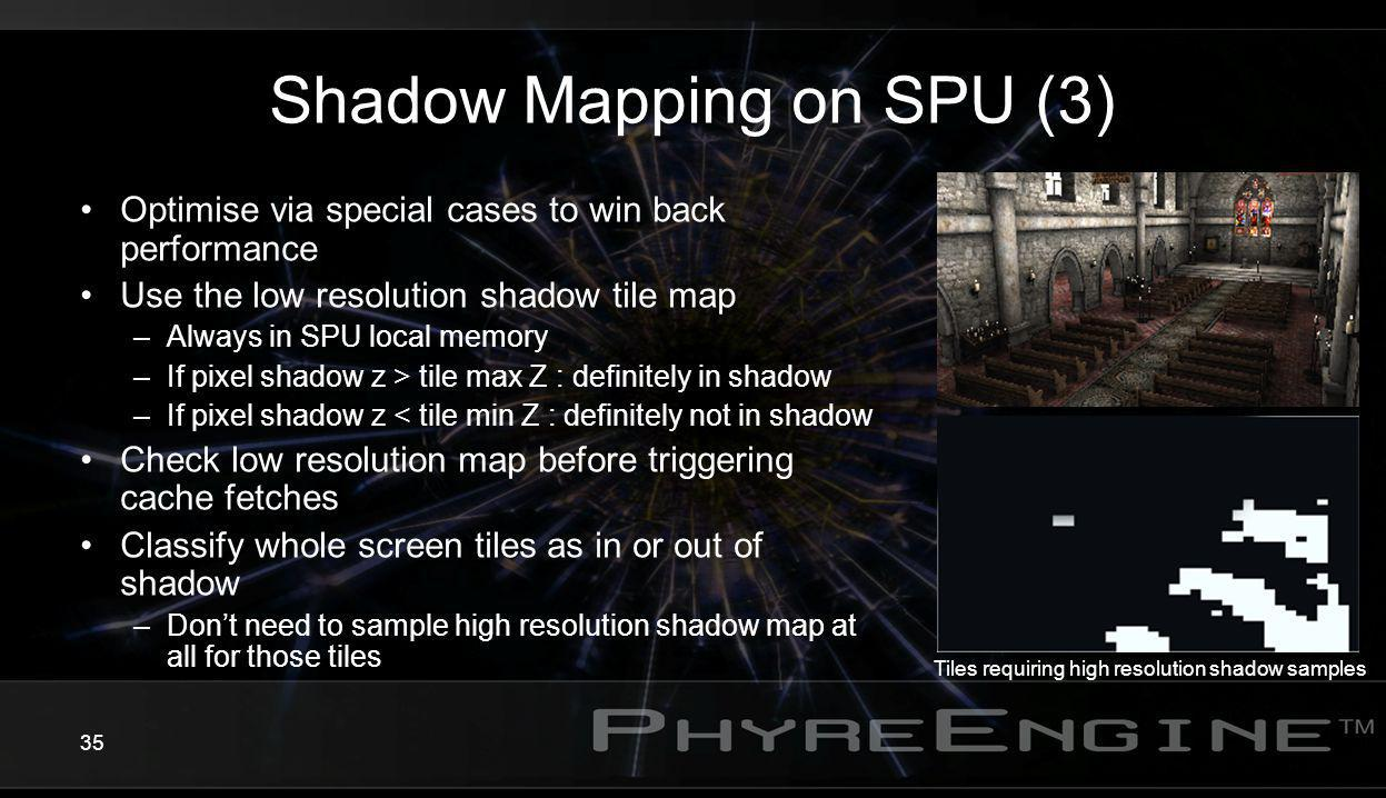Shadow Mapping on SPU (3)