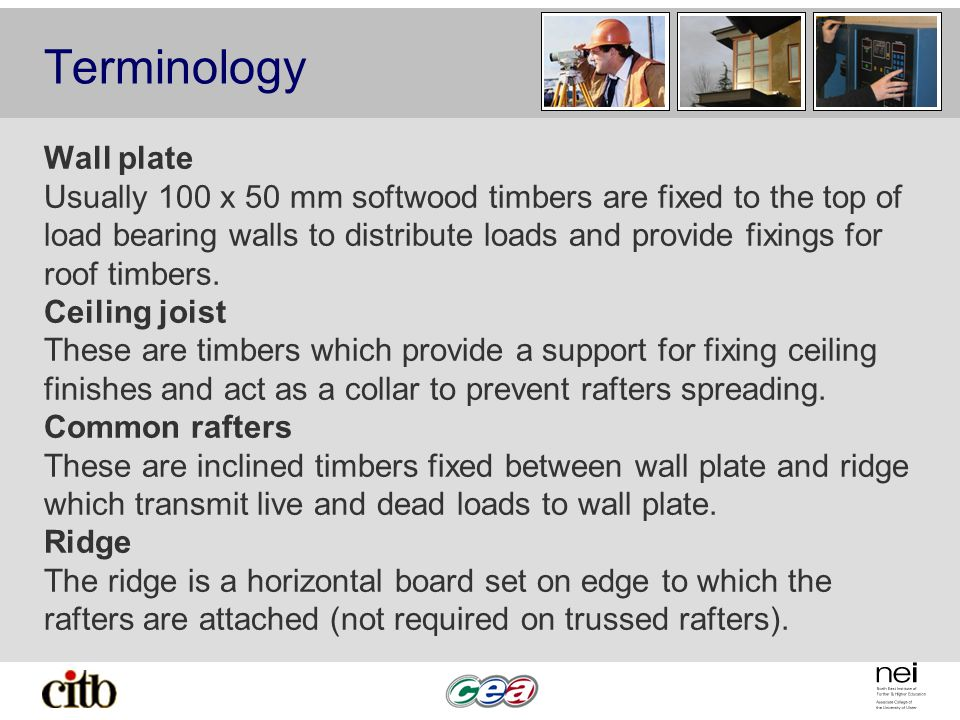 Terminology Wall plate