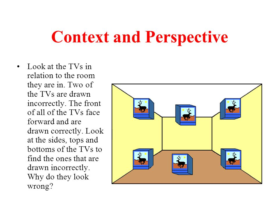 Context and Perspective