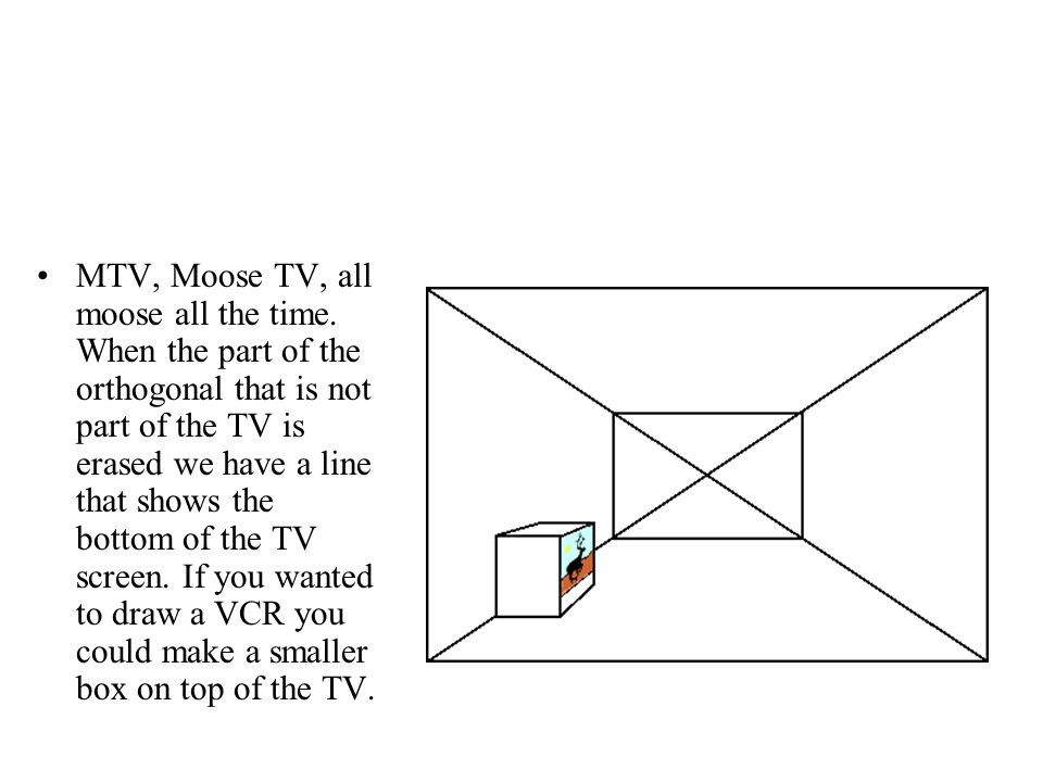 MTV, Moose TV, all moose all the time