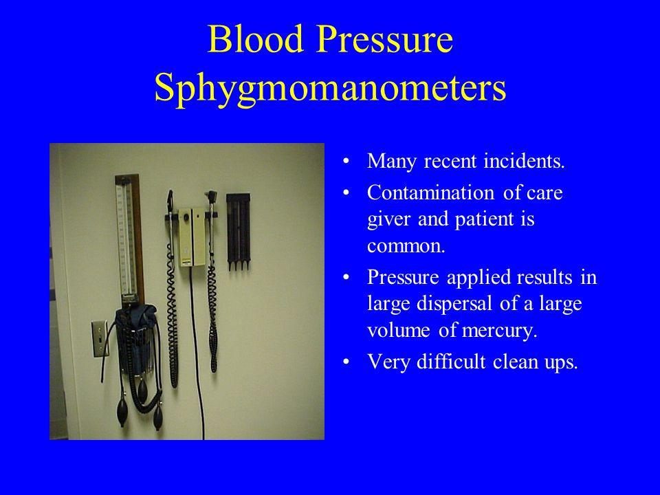 Blood Pressure Sphygmomanometers