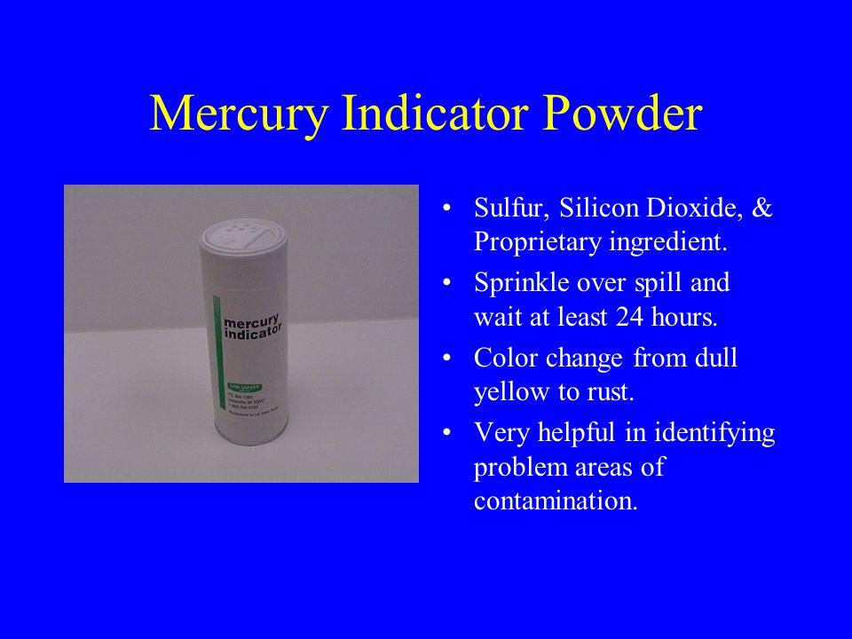 Mercury Indicator Powder