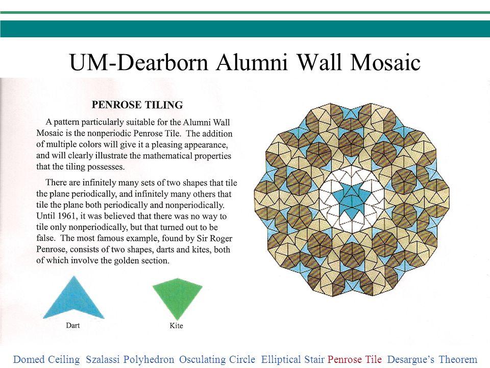 UM-Dearborn Alumni Wall Mosaic