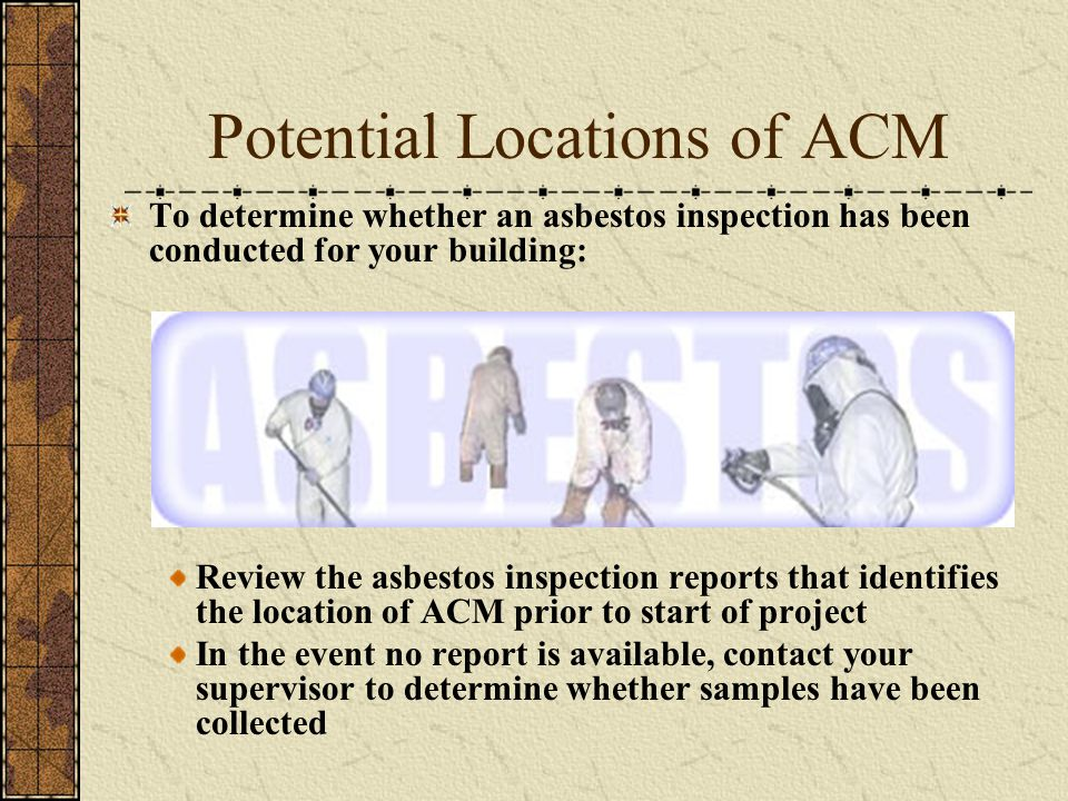 Potential Locations of ACM
