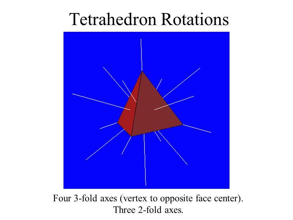 Tetrahedron Rotations