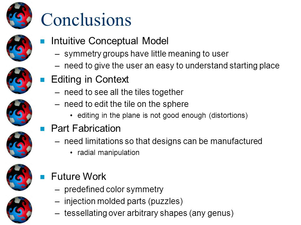 Conclusions Intuitive Conceptual Model Editing in Context