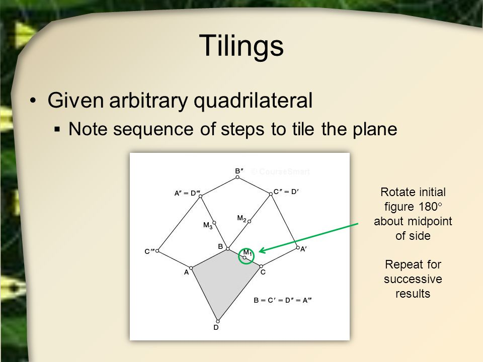 Tilings Given arbitrary quadrilateral