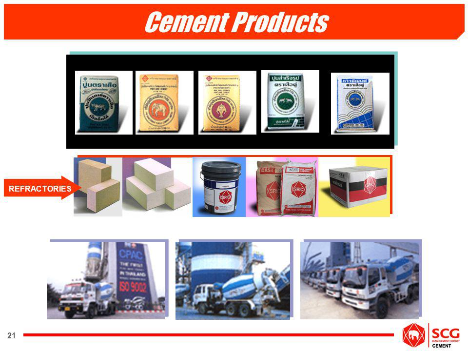 Cement Products REFRACTORIES