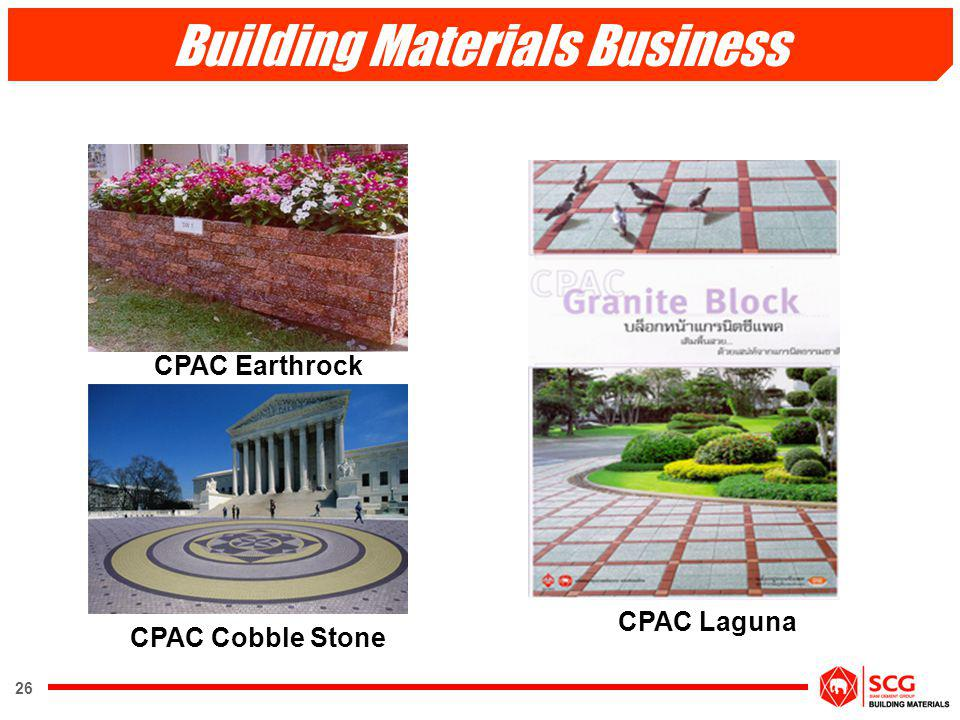 Building Materials Business