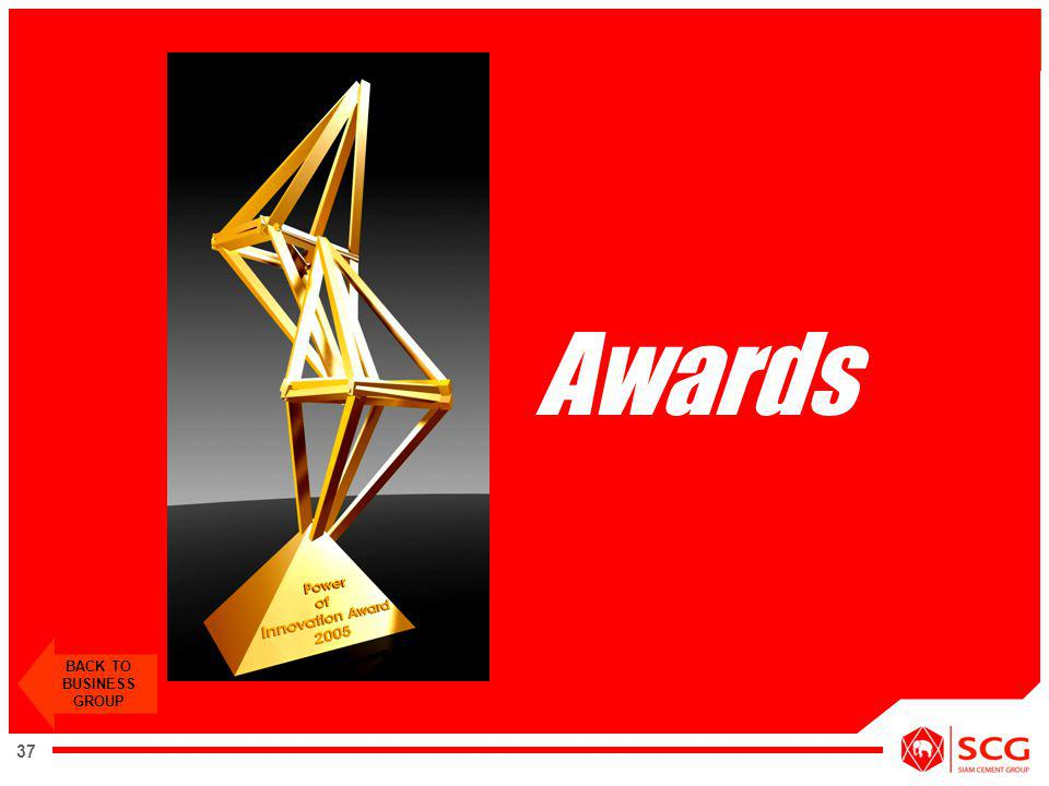 Awards BACK TO BUSINESS GROUP