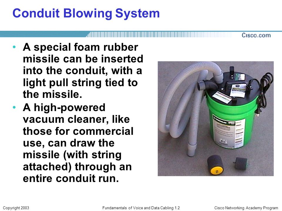 Conduit Blowing System
