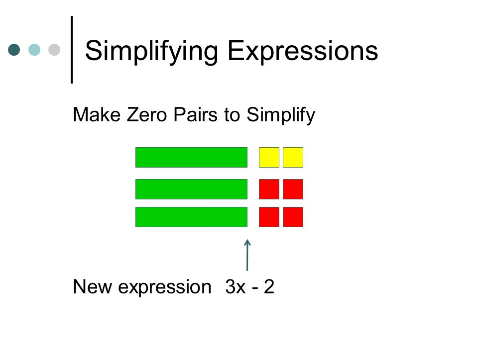 Simplifying Expressions