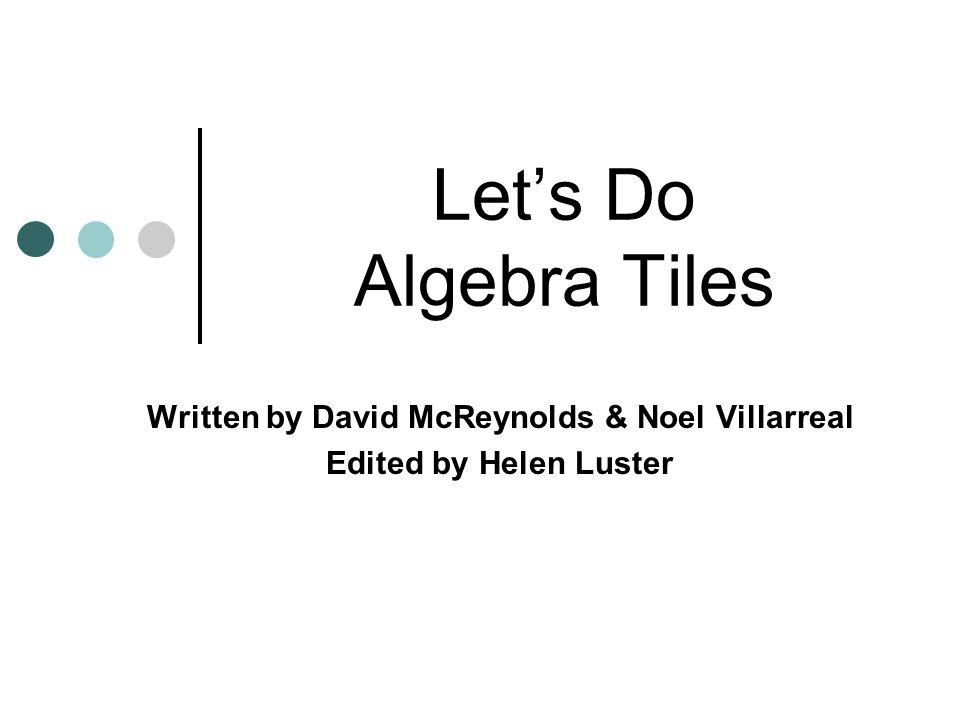 Written by David McReynolds & Noel Villarreal Edited by Helen Luster