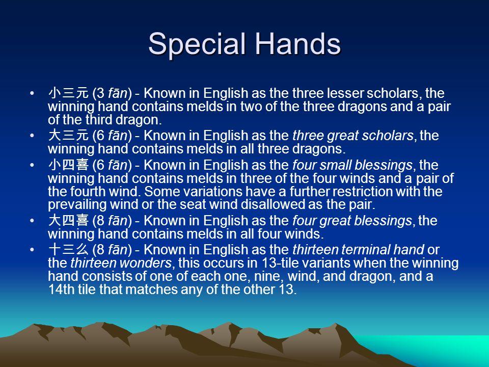 Special Hands