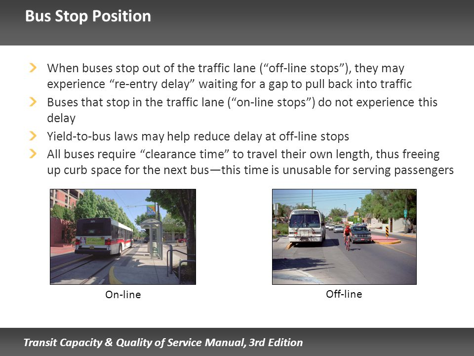 Bus Stop Position
