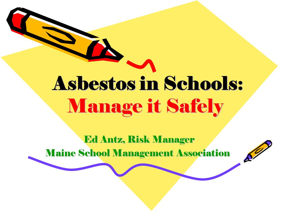 Ed Antz, Risk Manager Maine School Management Association