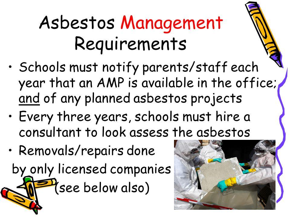 Asbestos Management Requirements