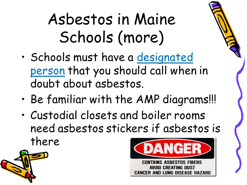 Asbestos in Maine Schools (more)