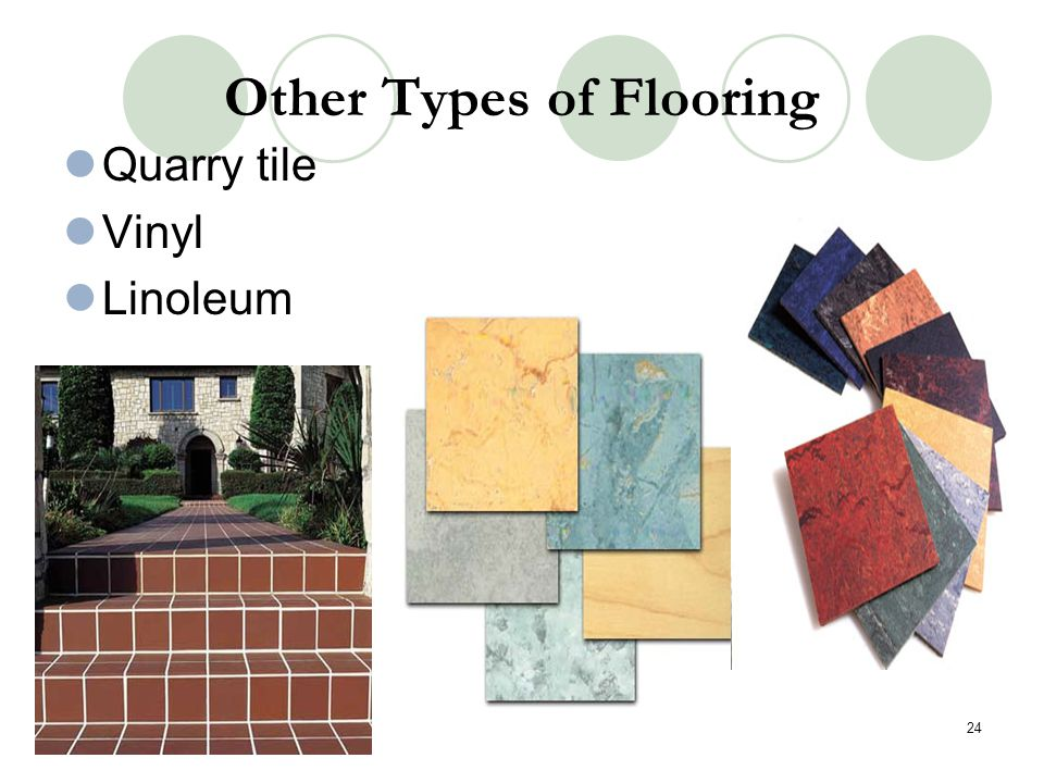 Other Types of Flooring