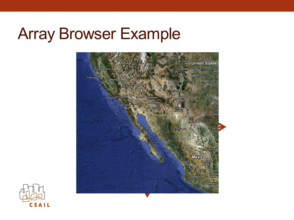 Array Browser Example