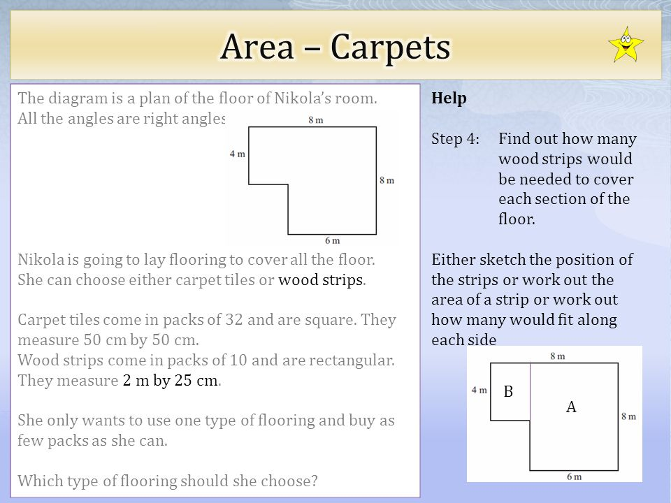 Choose level of difficulty ppt video online download for Work out floor area