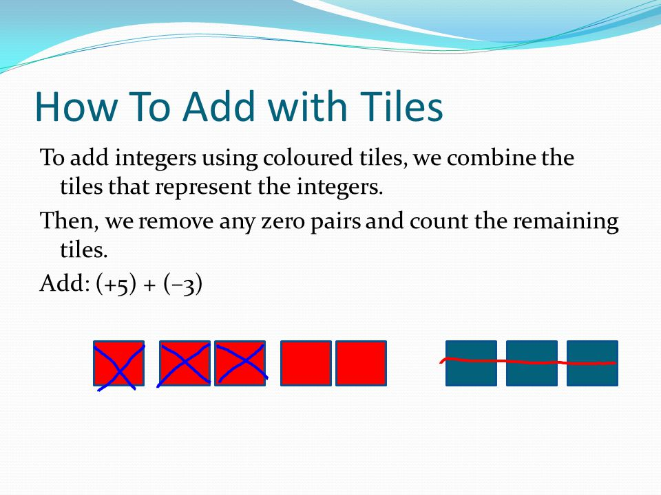 How To Add with Tiles