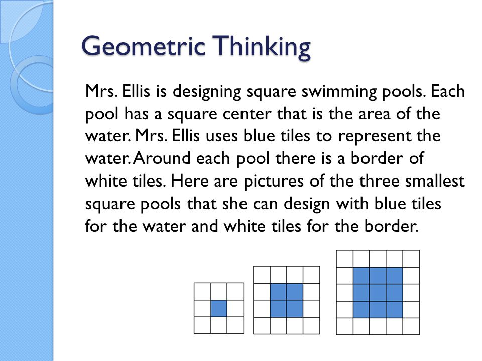 Geometric Thinking