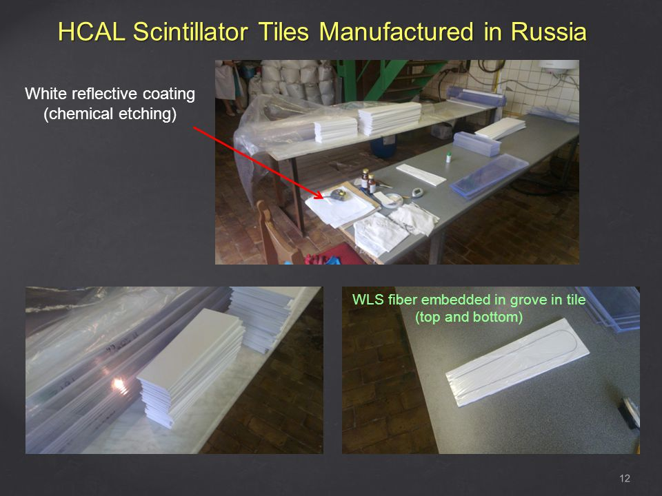 HCAL Scintillator Tiles Manufactured in Russia