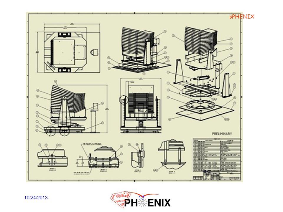 sPHENIX 10/24/2013