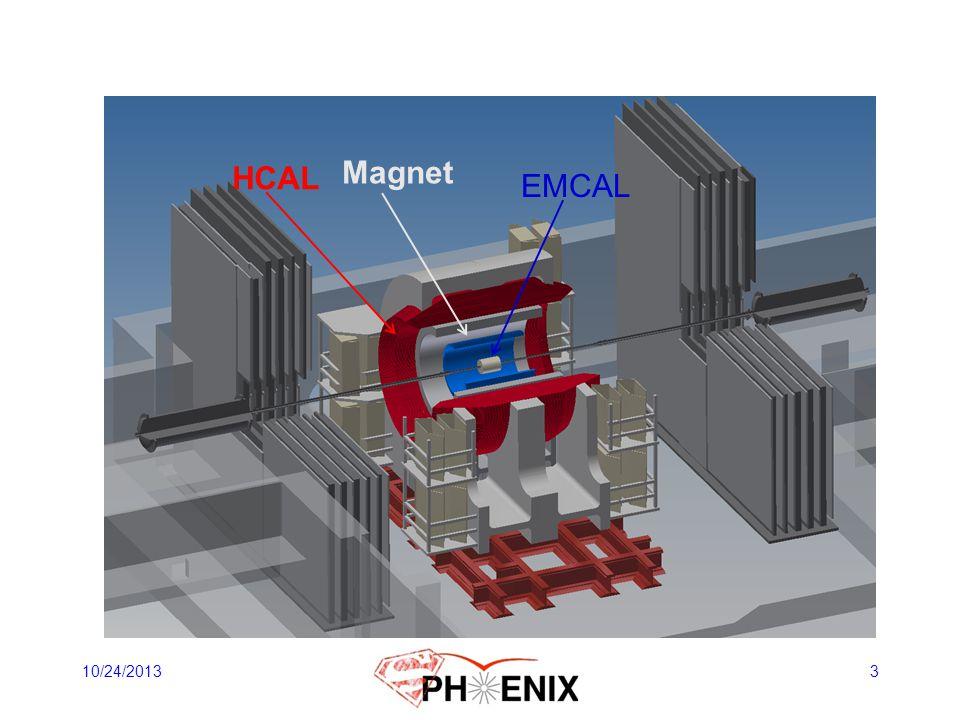 HCAL Magnet EMCAL Solenoid 10/24/2013