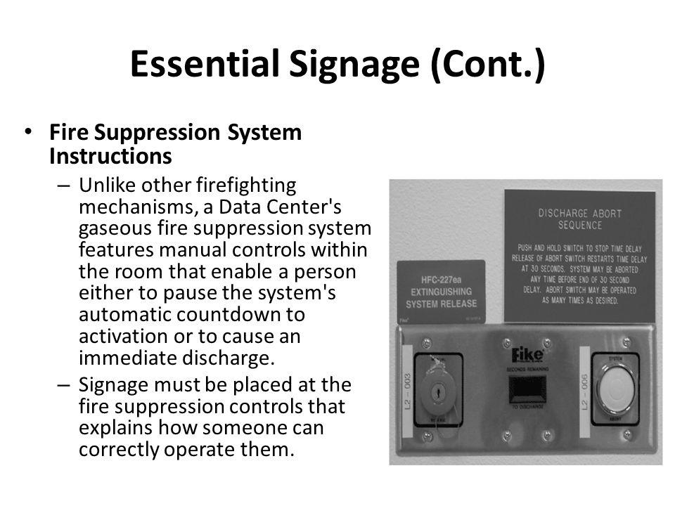 Essential Signage (Cont.)