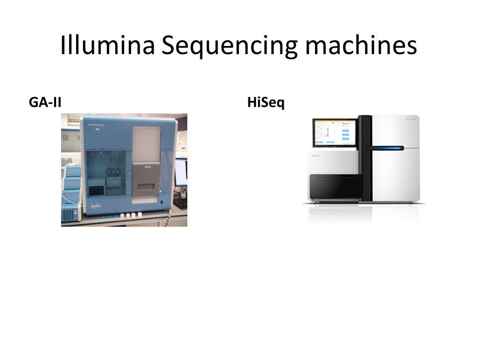 Illumina Sequencing machines