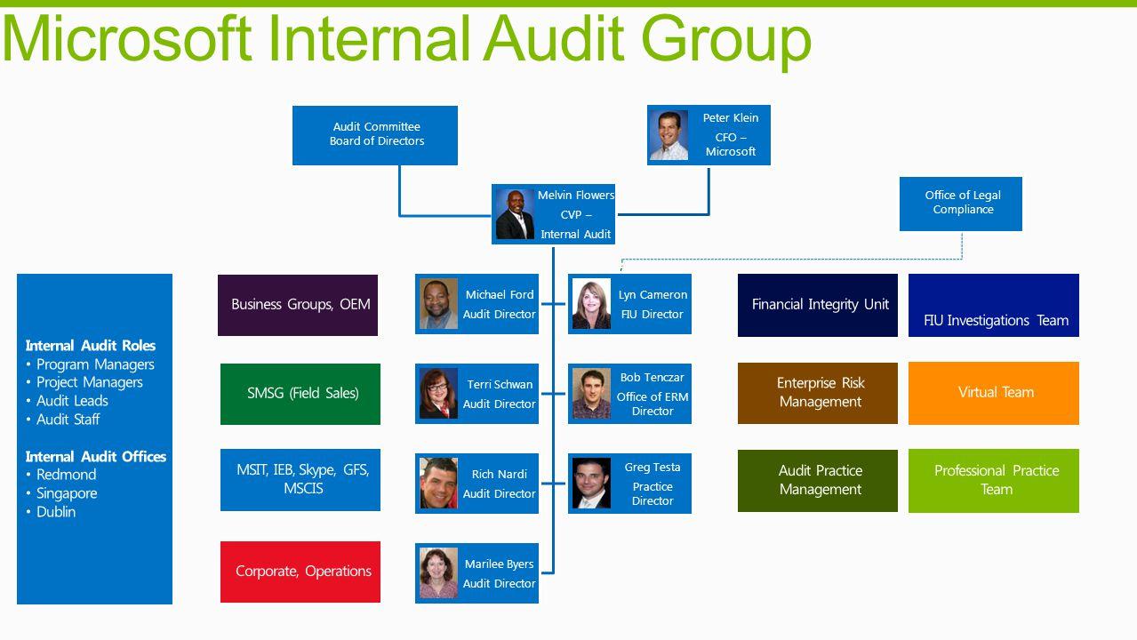 Microsoft Internal Audit Group