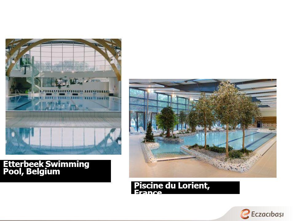 Etterbeek Swimming Pool, Belgium