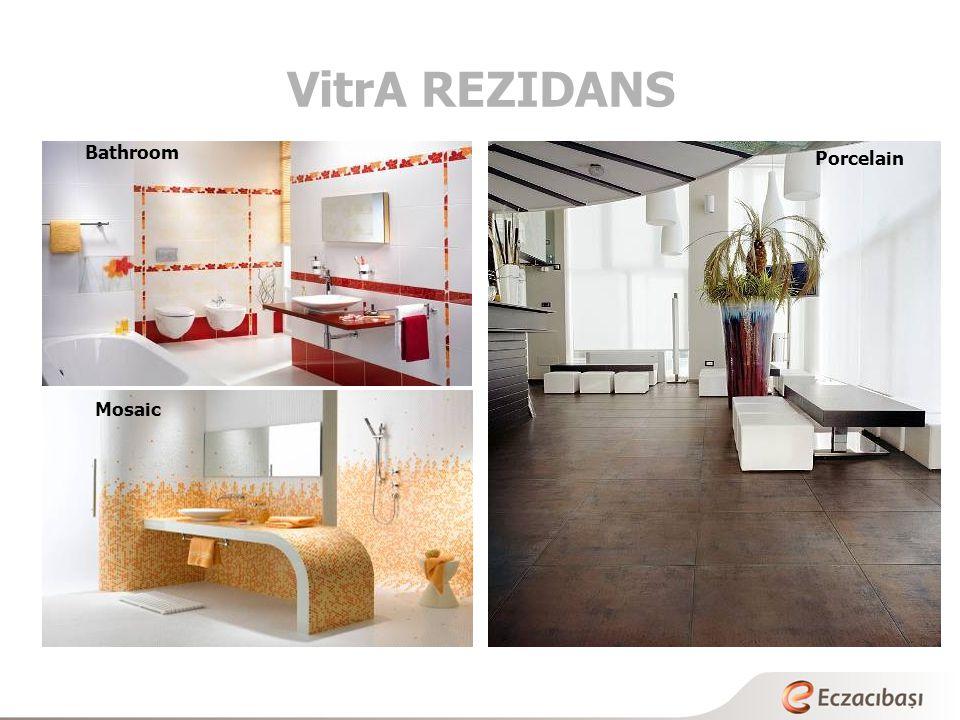 VitrA REZIDANS Bathroom Porcelain Mosaic