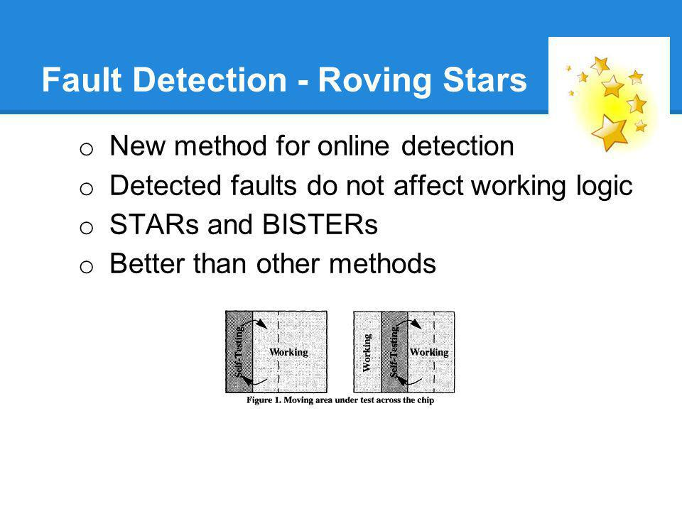 Fault Detection - Roving Stars