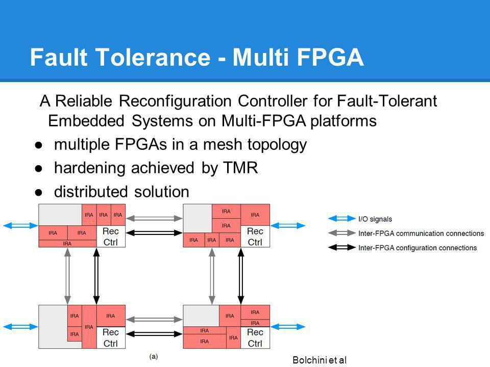 Fault Tolerance - Multi FPGA