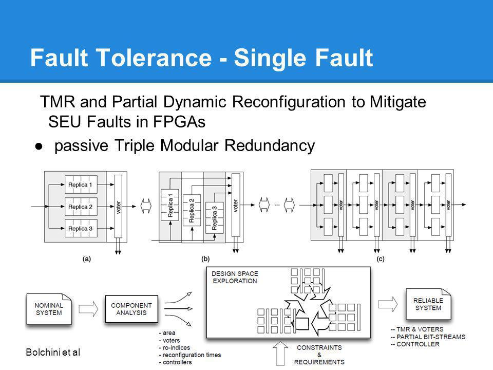 Fault Tolerance - Single Fault
