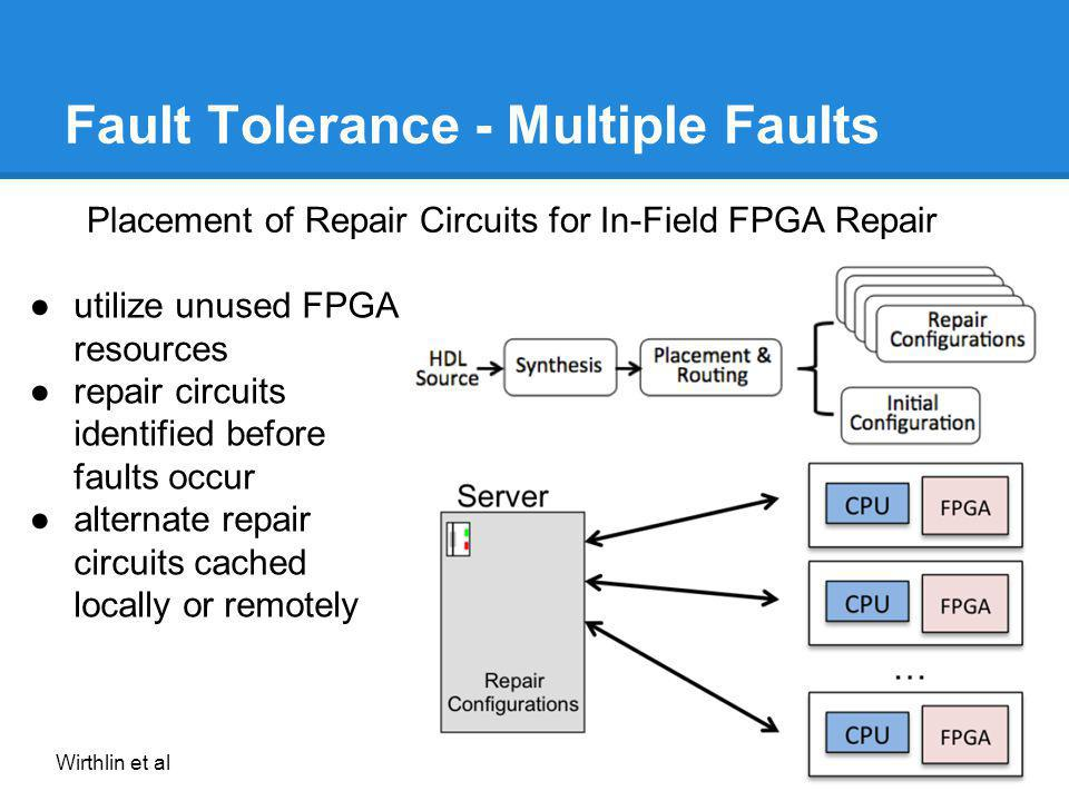 Fault Tolerance - Multiple Faults
