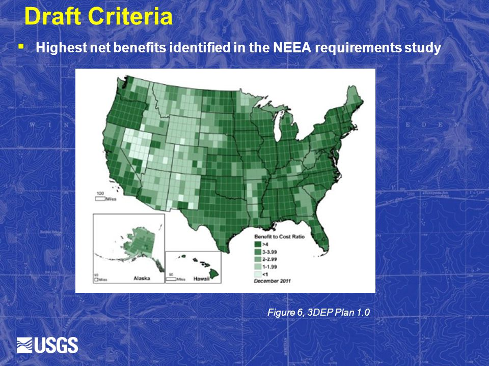 Draft Criteria Highest net benefits identified in the NEEA requirements study.