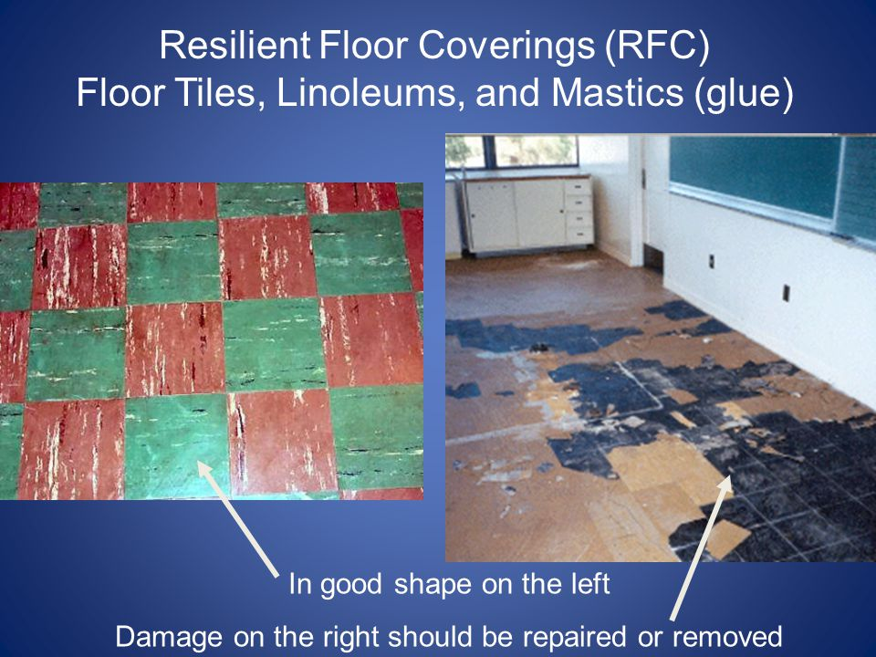 Resilient Floor Coverings (RFC)